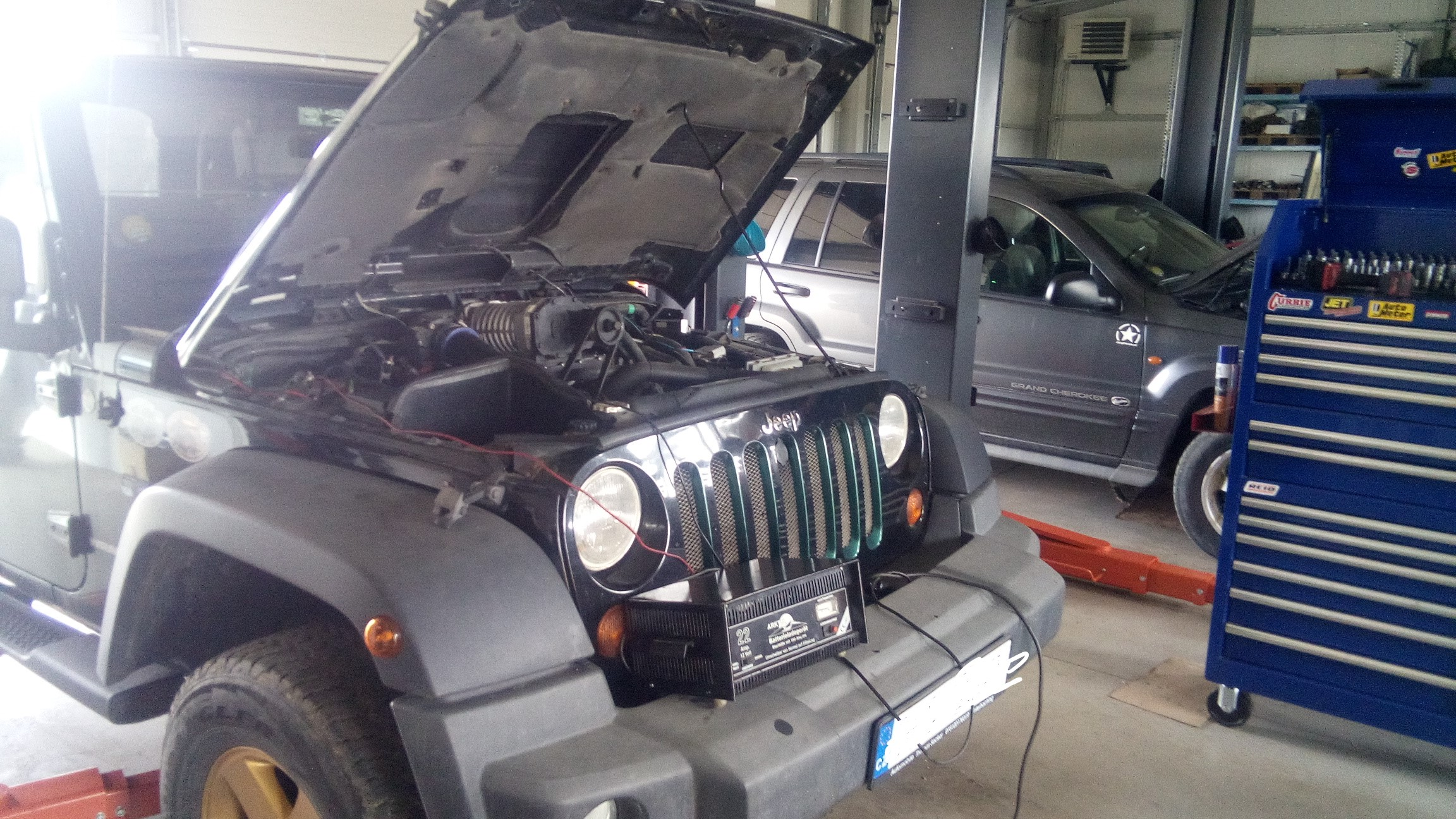 Jeep Wrangler JK Kompresor